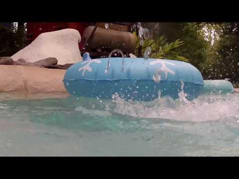 Disney's Blizzard Beach Cross Country Creek HD POV Walt Disney World