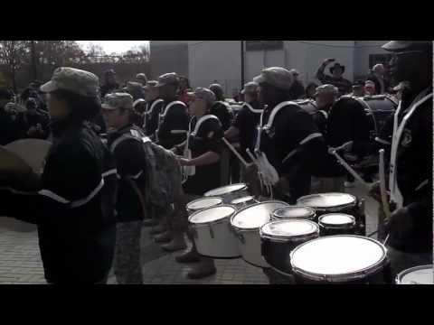 Army - Air Force Drumline Battle 2012