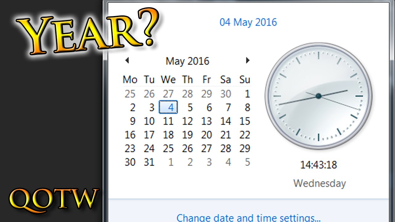 How Many Days are there in a Year? QUESTION of the Week ...