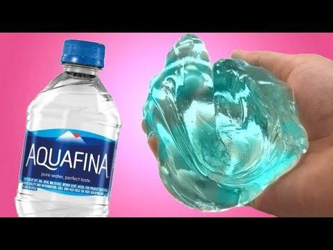 WATER SLIME! 💦 Testing NO GLUE Water Slime! - YouTube