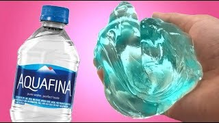 NO GLUE WATER SLIME ! DIY No Glue Clear Slime, Funny Slime Video,Testing NO GLUE Water Slime Recipes
