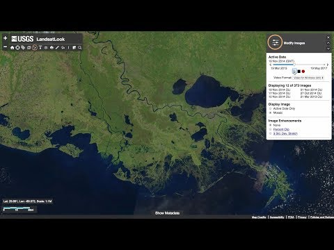 USGS EROS | How To Search and Download Satellite Imagery