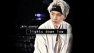 Скачать Min Yoongi Lights Down Low