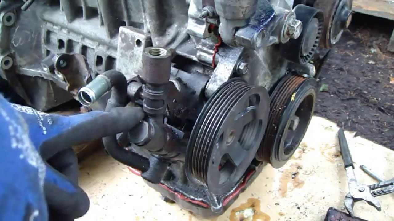How To Inspect Power Steering Pump Condition Youtube