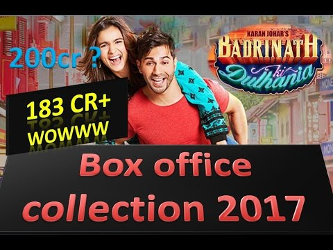 Badrinath ki dulhania Full Box office collection and worldwide Collection 2017