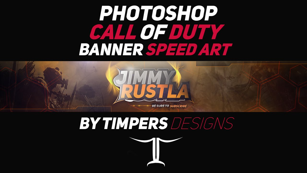 Photoshop Call Of Duty Banner Speed Art