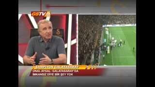 GSTV | Başkanımız Ünal Aysal GSTV'de Şampiyonluğu Değerlendirdi