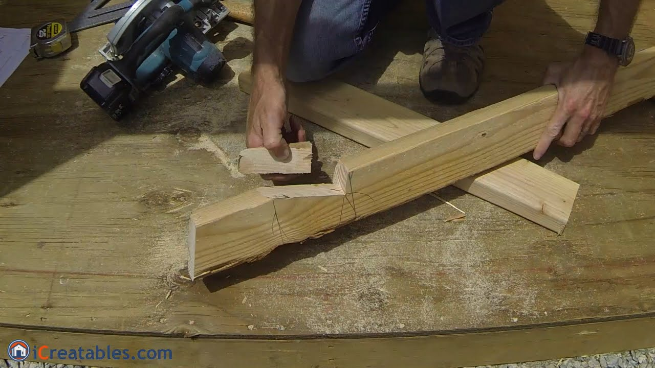 How To Build A Lean To Shed Part 4 Rafter Build Youtube