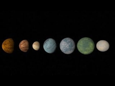 TRAPPIST 1 Seven Earth Like Planets New Discovery, Universe Sandbox ²