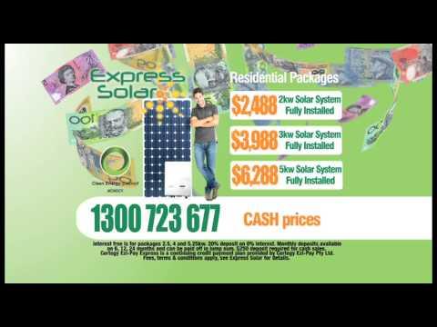 Express Solar - Australia - Advert 1