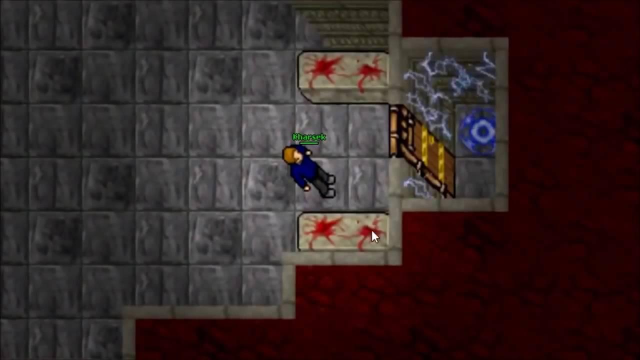 Tibia whats behind the 999 door youtube for Door 999 tibia