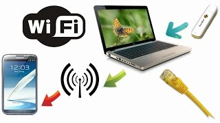 Как создать точку доступа Wi-Fi с компьютера/ноутбука?