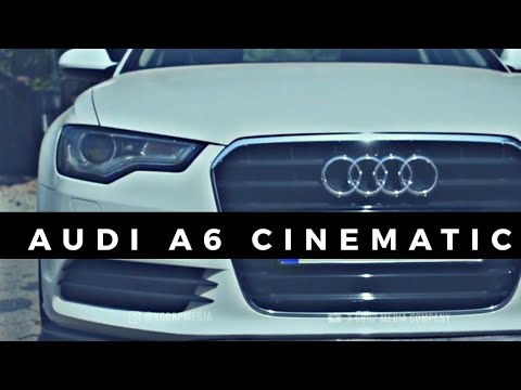 Audi A6 Cinematic Slow MO CUT | X CORP MEDIA COMPANY