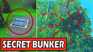 EARTHQUAKE OPENING the SECRET BUNKER -CRACKSMD FORTNITE BATTLE ROYALE (SEASON 8 THEME)