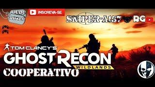 🔴🎮🎮Ghost Recon Wildlands #1-Início-Coop/Esquadrao Fantasma/LINK NA DESCRIÇÃO.(Gameplay Ps4).