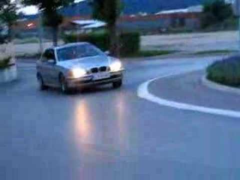 BMW drift Slovenia BTC