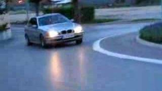 BMW drift Slovenia BTC