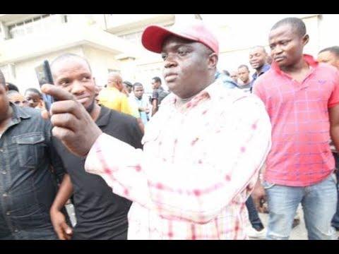 Violence Erupts As Thugs Hijack Lagos Protest Against Akwa Ibom Governor Plan To Build