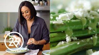 Tia Mowry's 15-Minute Roasted Asparagus Recipe   #GimmeFive   Refinery29