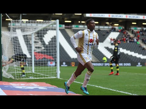 HIGHLIGHTS: MK Dons 1-0 Crawley Town