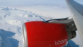 Special Polar Flight - Flying over North Pole