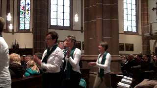 Flashmob im Sonntagsgottesdienst