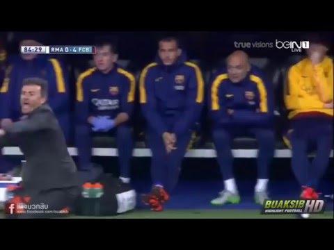 ไฮไลค์ฟุตบอล เรอัล  มาดริด 0-4 บาเซโลน่า