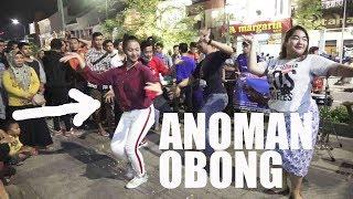 NGGAK NYANGKA !!! PENONTON CEWEK PINTER JOGET -- ANOMAN OBONG -- ANGKLUNG RAJAWALI MALIOBORO