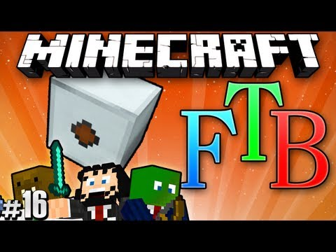 "Minecraft: Feed the Beast #16 ""MFE Powah!"""