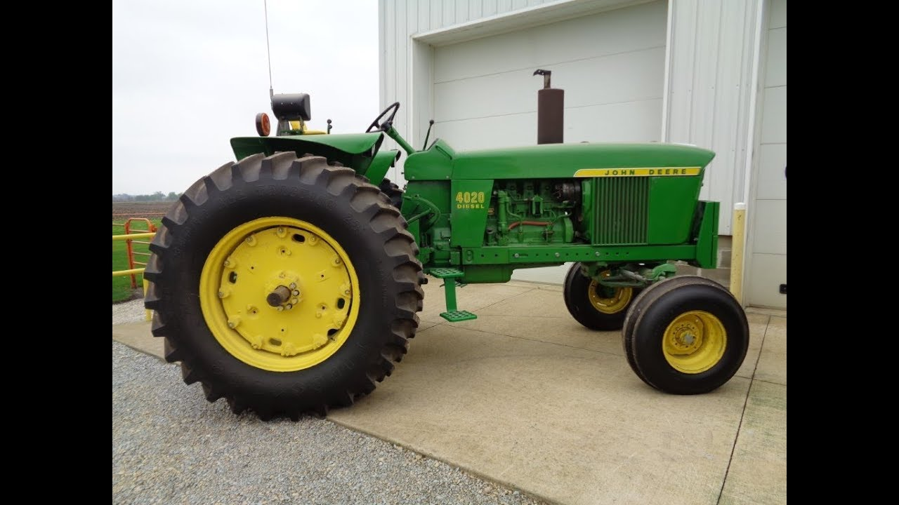 4020 John Deere >> 1972 John Deere 4020 With 2007 Actual Hours For Sale On Iowa Farm Auction 8 4 18