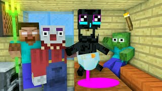 MONSTER SCHOOL : ENDERMAN BABY VS CLOWN - MINECRAFT ANIMATION