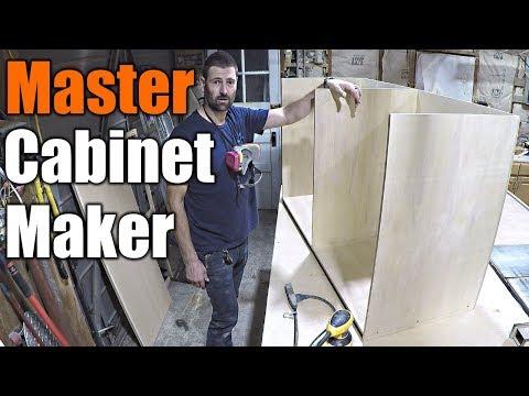 Build Cabinets Like A Pro   THE HANDYMAN  