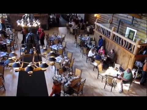 Old Faithful Inn Dining Room - Yellowstone National Park