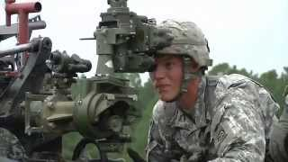 U.S. Army Field Artillery Regiment Trains with CH-47 Chinooks