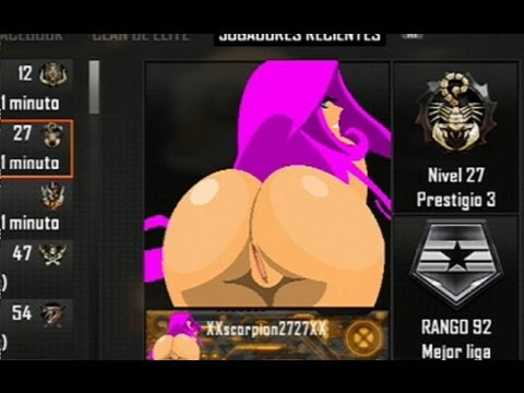 CONTROL DE EMBLEMAS EROTICOS #5 CALL OF DUTY BLACK OPS 2