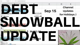 Debt Snowball Update | $16,761.64 | Debt Free Journey | Debt Snowball | Debt Free | Channel Updates