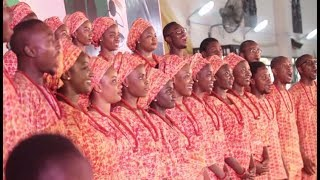 vuclip St.  Cecilia Choir UNILAG wows with Christmas Piece titled Kaabo at 2017 FILM Competiton