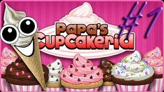 Papa's Cupcakeria | Chopitos y asi | Maicolytus | Parte 1 |