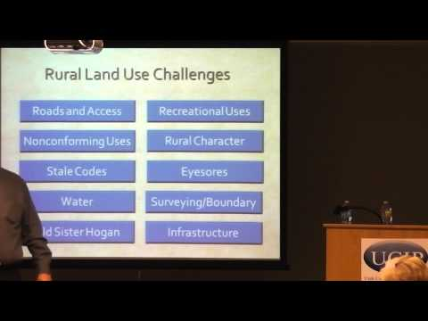Land Use Challenges for Rural Areas