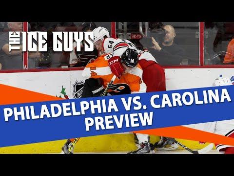 Ice Guys | Philadelphia Flyers vs Carolina Hurricanes | NHL Picks