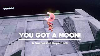 Lake Kingdom Moon #20 A Successful Repair Job | Super Mario Odyssey - Block Puzzle solution