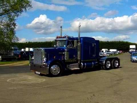 American Trucks Leaving Truckfest Youtube
