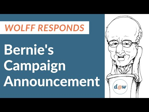 Wolff responds to Bernies announcement