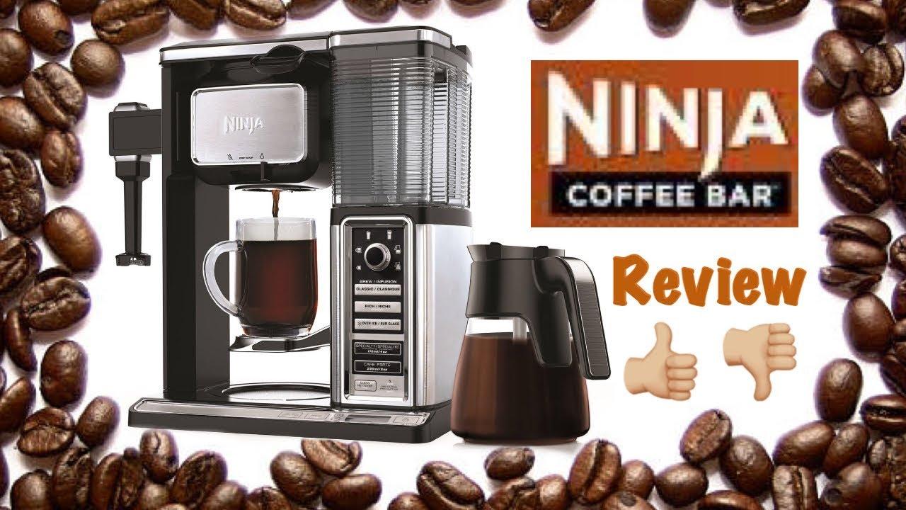 NINJA COFFEE BAR SYSTEM REVIEW - YouTube
