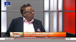 Falana's Statement On The Nigerian Army Is Wrong - Robert Clarke Pt.1