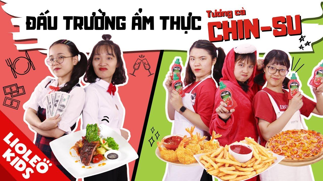ĐẤU TRƯỜNG ẨM THỰC CHIN-SU! Nhà hàng năm sao đối đầu quán ăn vỉa hè?!