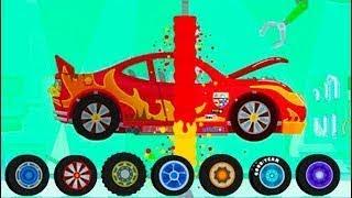 Мультики про машинки - Динозаврик Ди и гоночная трасса. Новые игровые мультфильмы 2020.