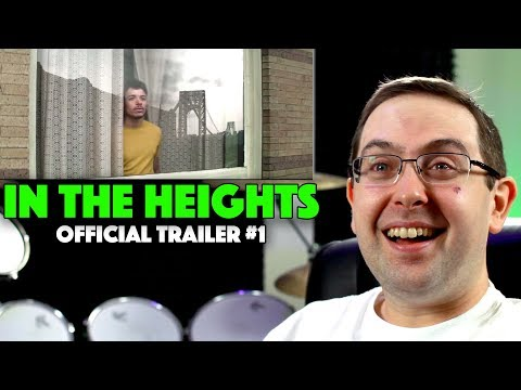 REACTION! In the Heights Trailer #1 – Lin-Manuel Miranda Movie 2020