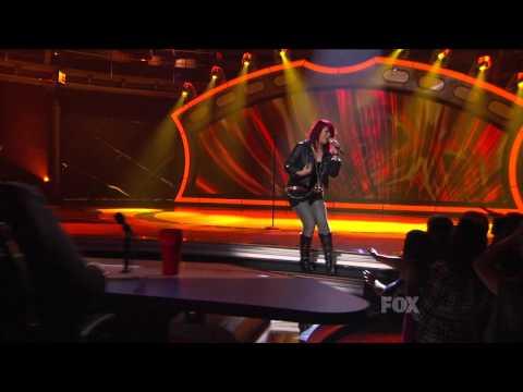 Allison Iraheta - Give In To Me (Top 13 Michael Jackson Night)