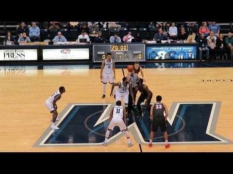 Fairfield Stags vs Monmouth Hawks - Men's Basketball - Video Highlights - January 22, 2017